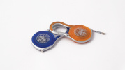 Blue and orange Flexometer