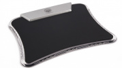 Mouse pad with USB ports
